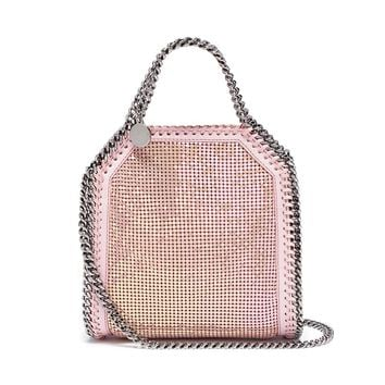 Stella McCartney | 'Falabella' mini strass shaggy deer chain tote | Women | Lane Crawford - Shop Designer Brands Online