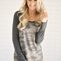 Concealed Classy Camo Top