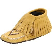 Manitobah Mukluks 20264 Moccasin,Tan,Women`s 6 M US/Men`s 4 D US