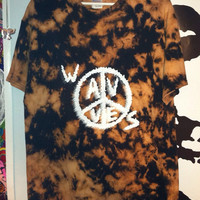 Psychedelic Wavves 3D style t shirt. Size L by NoWavves on Etsy