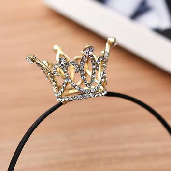 Crown Designs Wedding Tiara Diamante Crystal Rhinestone Hair Combs Headband Headpiece Bridal Jewelry Accessories HOT