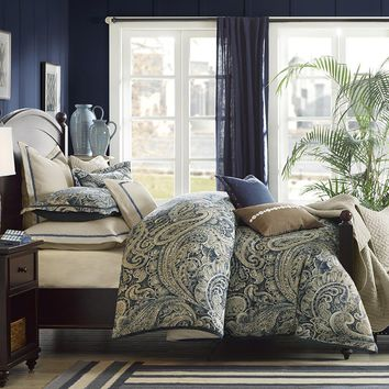 Urban Chic Cotton Printed Comforter Set - Bedding | Hampton Hill