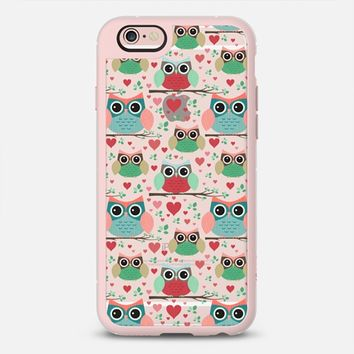 Cute Owls iPhone 6s case by Noonday Design | Casetify