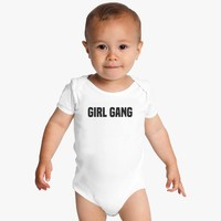 Girl Gang Baby Onesuits