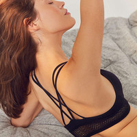 Ama Strappy-Back Seamless Bra | Urban Outfitters