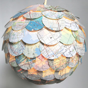 Custom Artichoke Pendant Paper Lights & Lanterns