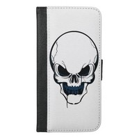 Men's Skull Wallet Case