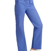 Buy Adar Pop-Stretch Junior Fit Low Rise Boot Cut Bungee Leg Scrub Pant for $26.95