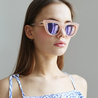 Quay Kitti Sunglasses Pink