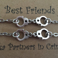 Best Friends aka Partners in Crime Bracelet Set