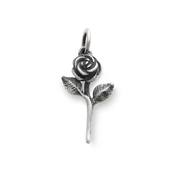 James Avery Rose Charm | Dillards