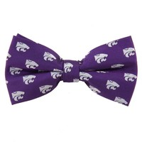 Kansas State Wildcats Repeat Woven Bow Tie, Size: One Size (Kst Team)