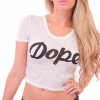 DOPE Crop Top (Available in 2 colors)
