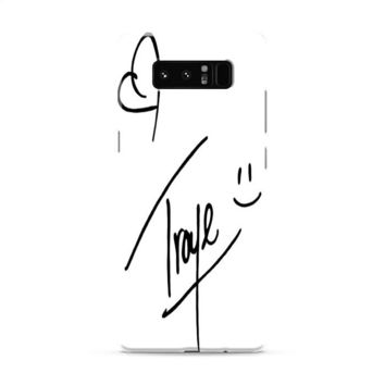 Troye Sivan Signature Samsung Galaxy Note 8 Case