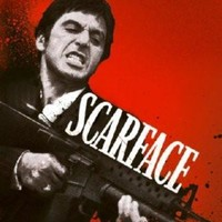 Scarface Movie Standup 4inx6in