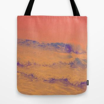HeatWave Tote Bag by Ducky B
