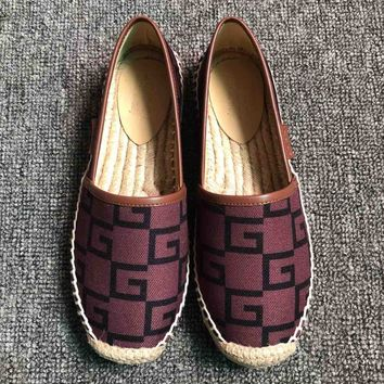 GUCCI 2019 new color matching women's flat with flat shoes #1
