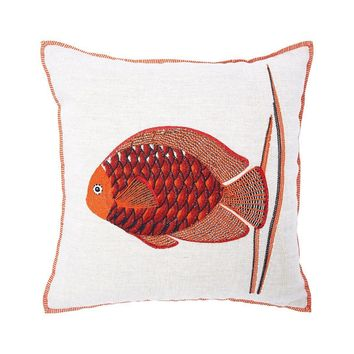 Poseidon Corail Decorative Pillow