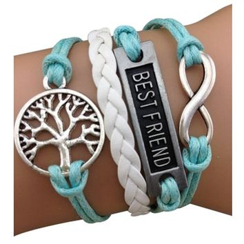Best Friends Tree of Life Arm Party Bracelet