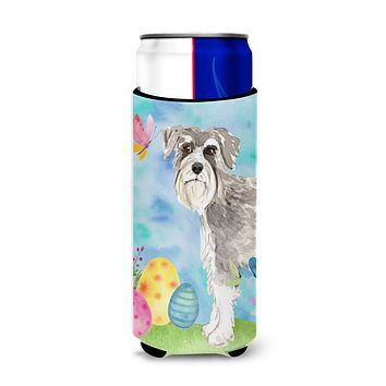Easter Eggs Schnauzer #1 Michelob Ultra Hugger for slim cans CK1903MUK