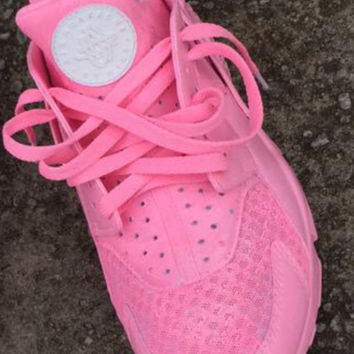 Custom Pink Huaraches