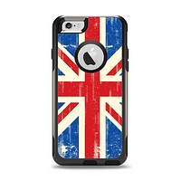 The Grunge Vintage Textured London England Flag Apple iPhone 6 Otterbox Commuter Case Skin Set