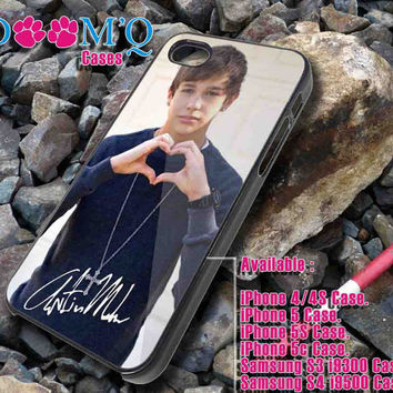 Austin Mahone love iPhone case, iPhone 4/4S, 5, 5S, 5C Case, Samsung S3, S4 Case By Doomqcases for Accessories beautiful