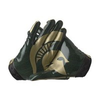 Nike Store. Nike College Rivalry (Michigan State) Vapor Jet Men's Football Gloves