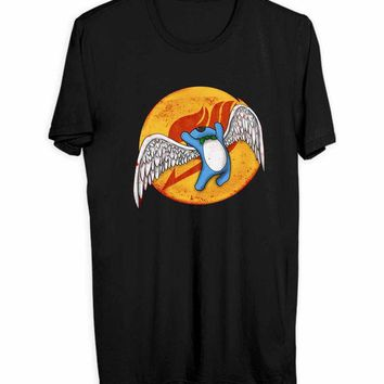 ONETOW Aye Sir Wings Of Fairy Tail Men T Shirts