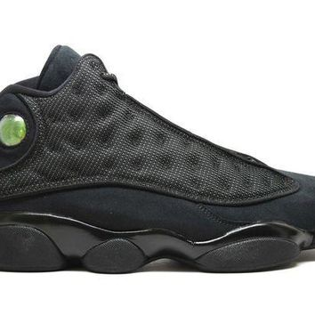 Air Jordan 13 Retro Black Cat Basketball Shoes <>