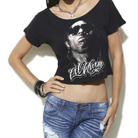 Lil Wayne Crop Tee | Shop Tops at Wet Seal