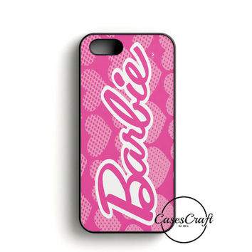 Barbie Pink Logo Cover iPhone 5/5S/SE Case
