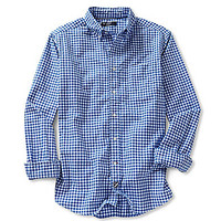 Cremieux Gingham Oxford Shirt - Blue