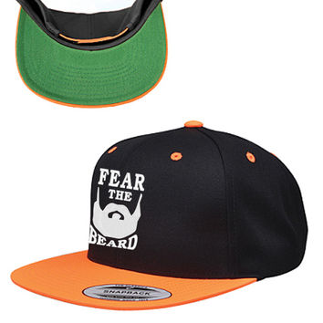 Fear the Beard Snapback Hat
