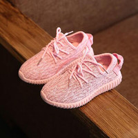 Hot Item 2016 Children Casual Shoes Lace Up Cute Boys Girls Sneakers Unisex Fashion Baby Sport Shoes Zapatillas