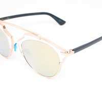 Dior So Real U5SK1 Gold Sunglasses
