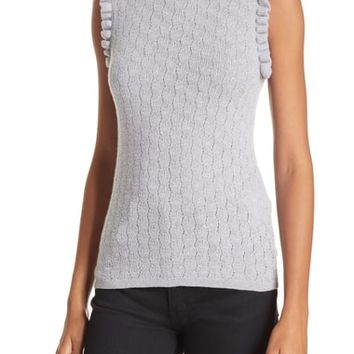 Rebecca Taylor Sleeveless Merino Wool Sweater | Nordstrom