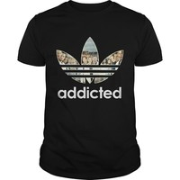 Grey's Anatomy Addicted shirt Guys Tee