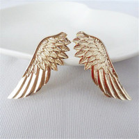 Collar Pin Brooch Pin Brooches BroochPin for Women S Trendy Stylish Punk Wings Style SM6