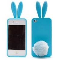 MiniSuit Cute Bunny Silicone iPod Touch 5th Generation Case