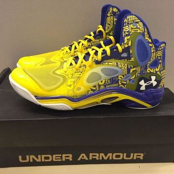DCCK7H8 Stephen Curry Under Armour Spawn Anatomix 'The Zone' PE US11.5 RARE