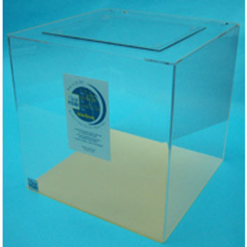 Clear-for-Life Cube 25 Gallon Acrylic Aquarium (Clear)
