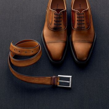 Saffron Cap Toe Oxford