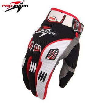 ac NOOW2 Pro-biker Motorcycle Cycling Dirt Protective Gear Racing Gloves Summer Full Finger Knight Riding Motorbike Motorcycle Gloves