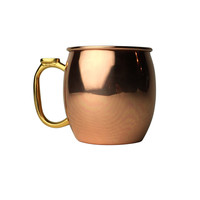 BAR HADLEY 100% COPPER MOSCOW MULE MUG 16 oz