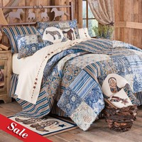 SALE! River Ranch Quilted Bedding Collection - Bedding