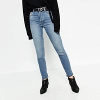 STRAIGHT CUT HIGH WAIST JEANSDETAILS