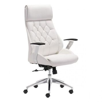 ZUO Modern Boutique 205891 Office Chair White