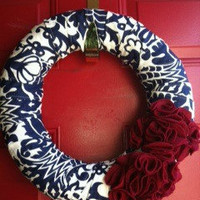 Amsterdam Damask Wreath