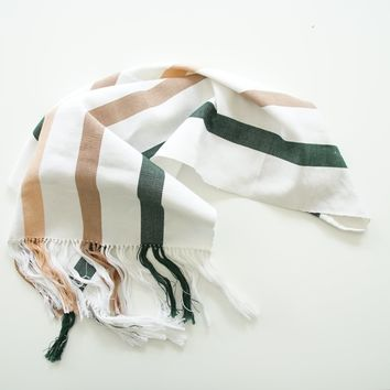 Woven Cotton Hand Towel